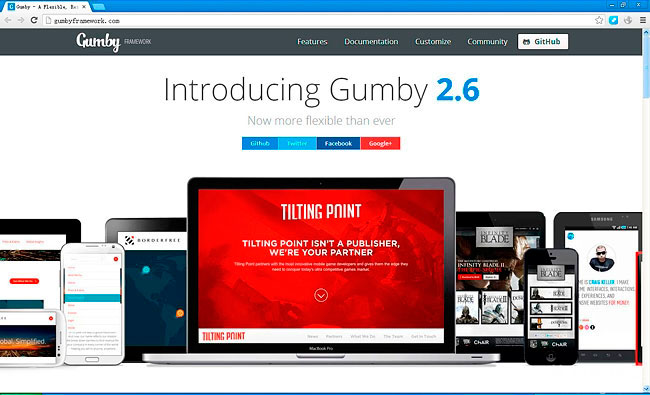 Gumby 2,CSS网格框架