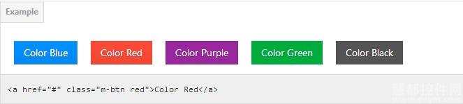 CSS3 Microsoft Modern Buttons