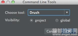 命令提供自动补全功能,并显示在phpstorm命令行工具控制台.