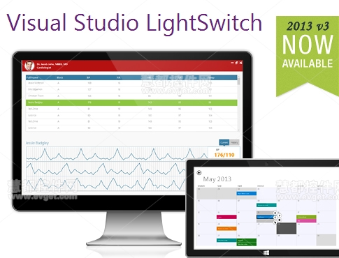 Essential Studio 2013 v3,LightSwitch,Syncfusion