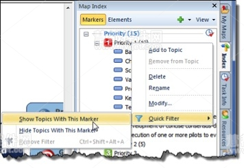 MindManager 14 for Windows标记2