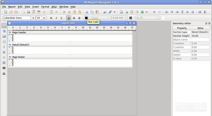 报表控件NCReport教程:报表创建示例