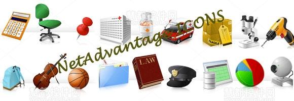NetAdvantage ICONS,infragistics,图标库,界面设计工具