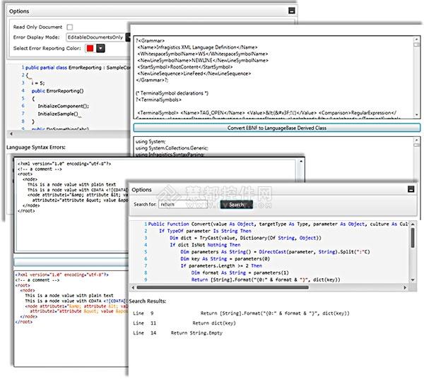 EBNF,NetAdvantage for Silverlight,语法解析