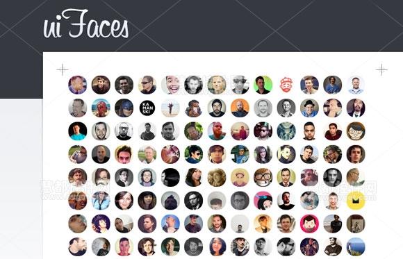 UI Faces,界面设计工具