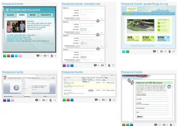 UI Patterns,界面设计模型