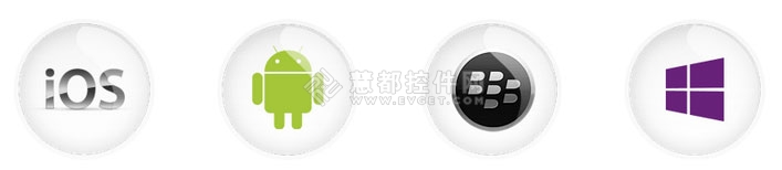 iOS,Android,黑莓,Winphone8
