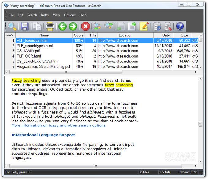 dtSearch Desktop入门教程:创建索引