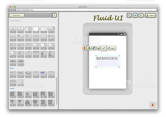 Fluid UI,app原型设计工具,界面设计工具