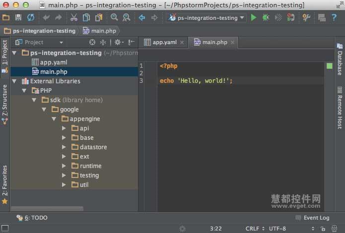 用PhpStorm IDE创建GG App Engine PHP应用教程 二