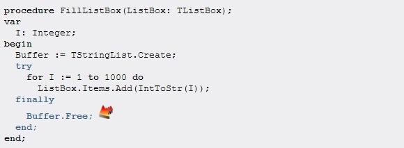 ModelMaker教程:try-finally向导5
