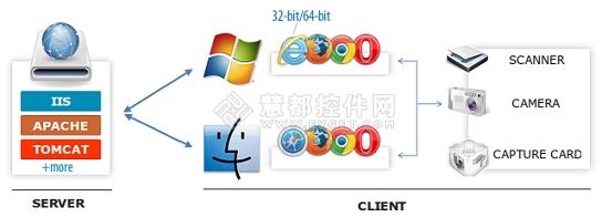 Dynamic Web TWAIN,TWAIN扫描识别