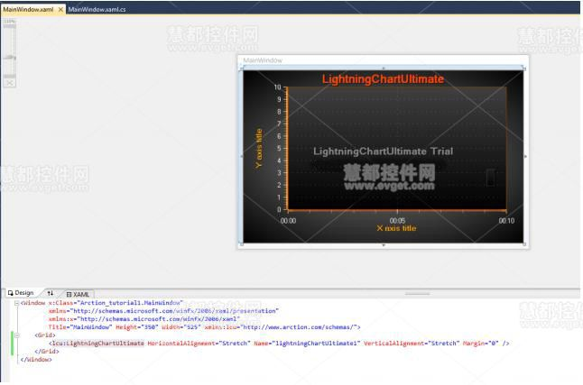 LightningChart Ultimate窗口编辑器