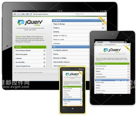 jQuery Mobile 移动开源框架