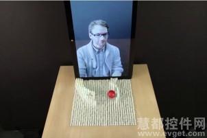MIT 3D图像交互操作技术:实现触摸真实物体