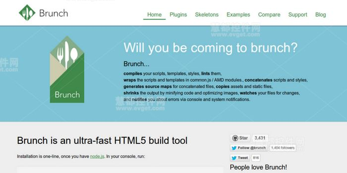 为HTML5开发人员量身打造的7个Web框架
