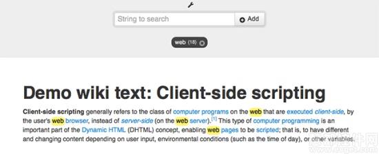 jQuery,CSS文字特效插件