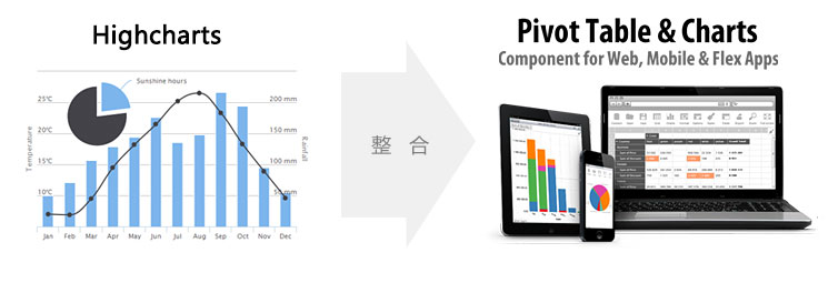 Flexmonster Pivot Table & Charts与HighCharts整合