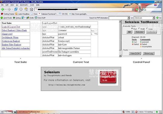 测试工具Selenium