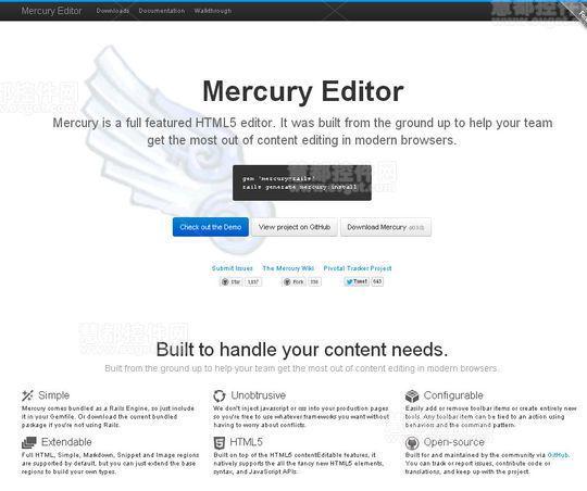属于Web开发人员的5个HTML5文本编辑器