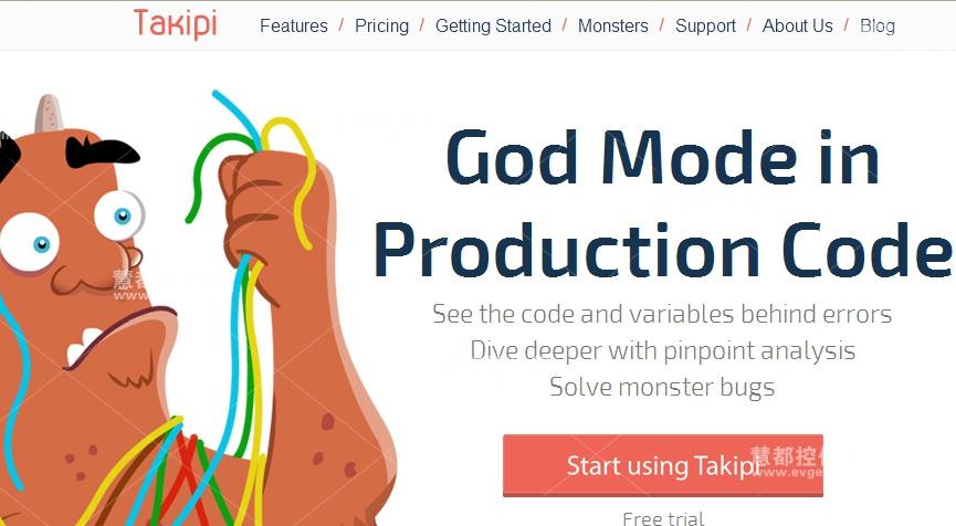 Takipi 错误追踪和分析 JavaTool