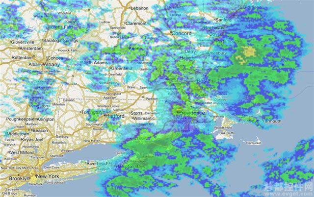 支持NOAA美国天气雷达 - Map Suite 8.0测试版新功能