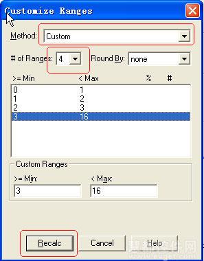 Mapinfo Pro使用实例精选:如何制作专题制图