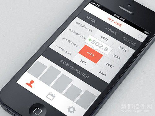 自然用户界面设计-移动ui欣赏