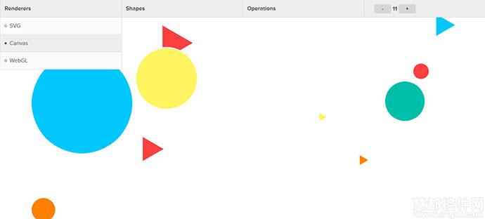 HTML5 画布(Canvas)的JavaScript库