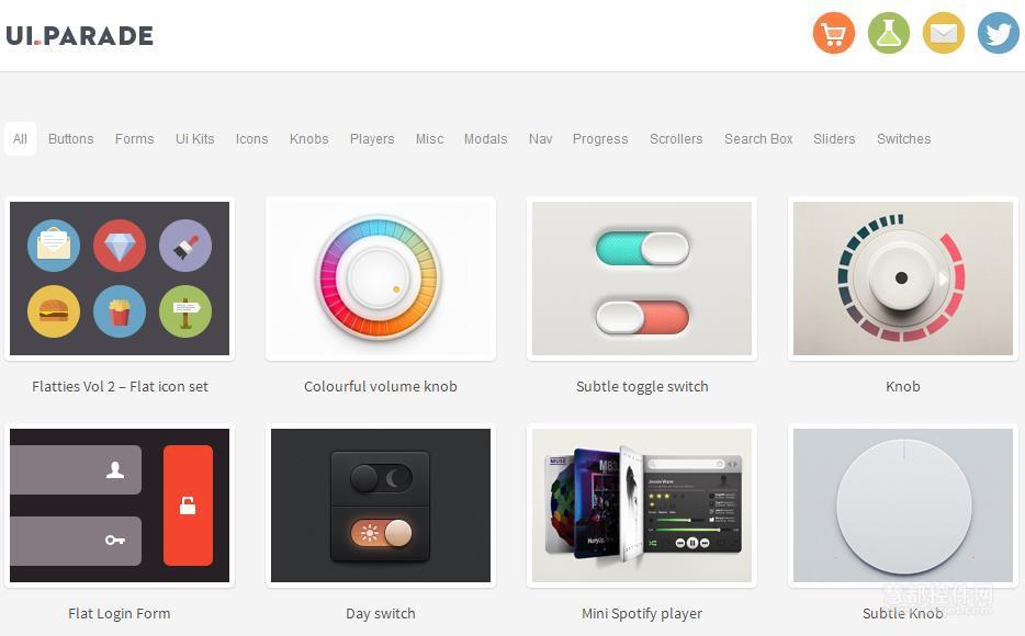灵感无限!7个激发专业的灵感级UI设计资源景观设计平面图cad图片