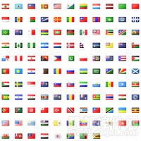 国旗PNG图标集