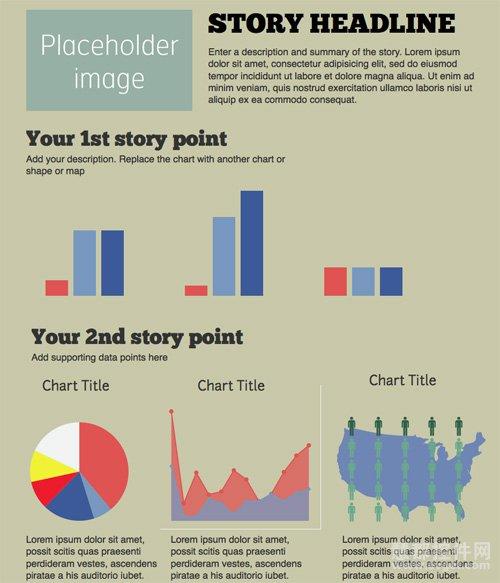 12款最流行的信息图表制作工具-Venngage