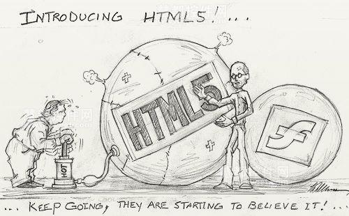 对于在线网络新闻哪种技术更好:Flash VS HTML5