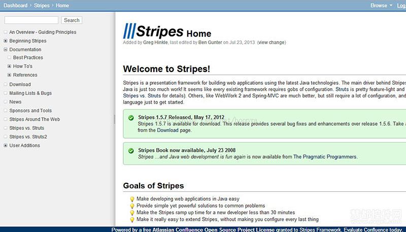 JAVA首选五款开源Web开发框架Stripes