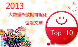 2013年最佳大数据&数据可视化话题文章TOP10