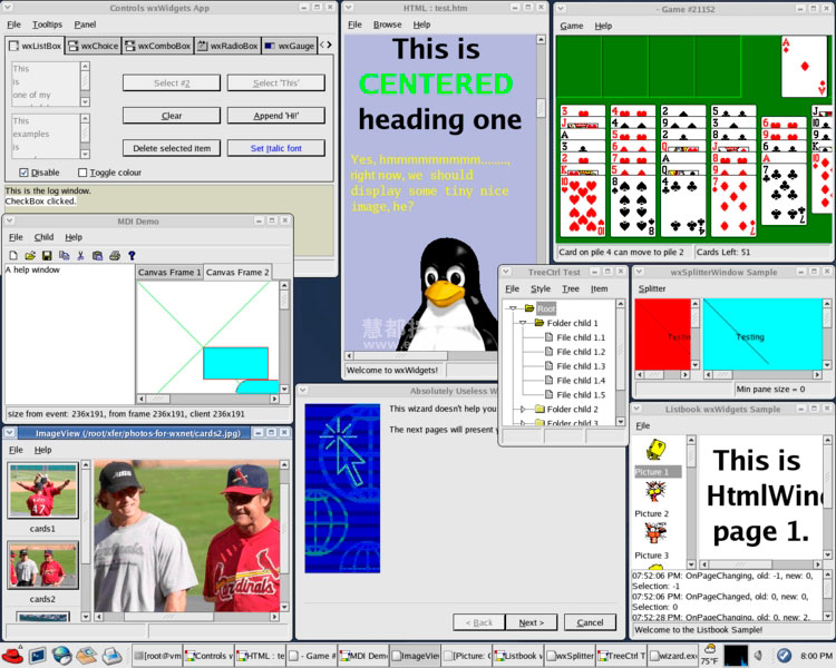 wxNet wxWindows 开源GUI