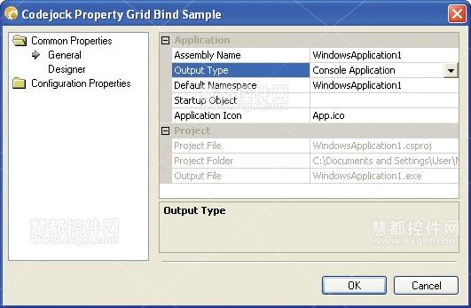 Xtreme PropertyGrid GridBind