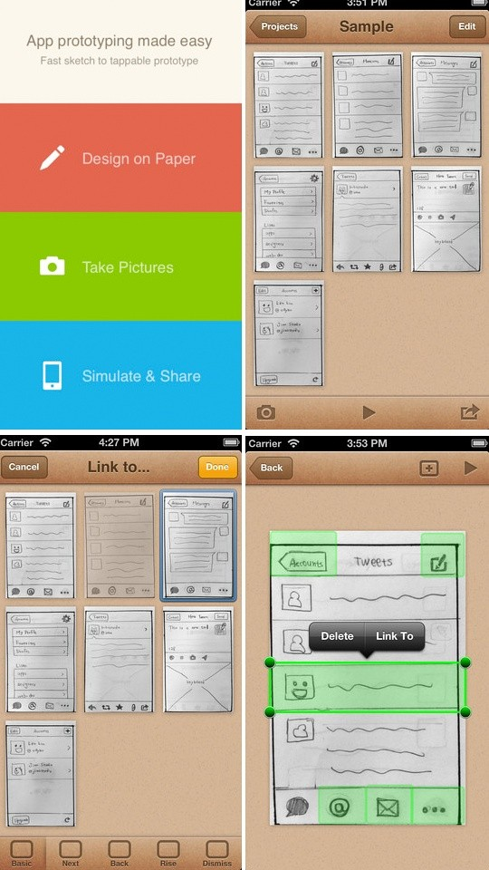 POP 移动App产品原型设计工具