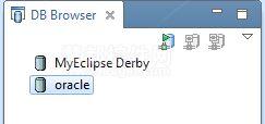 在MyEclipse中连接数据库