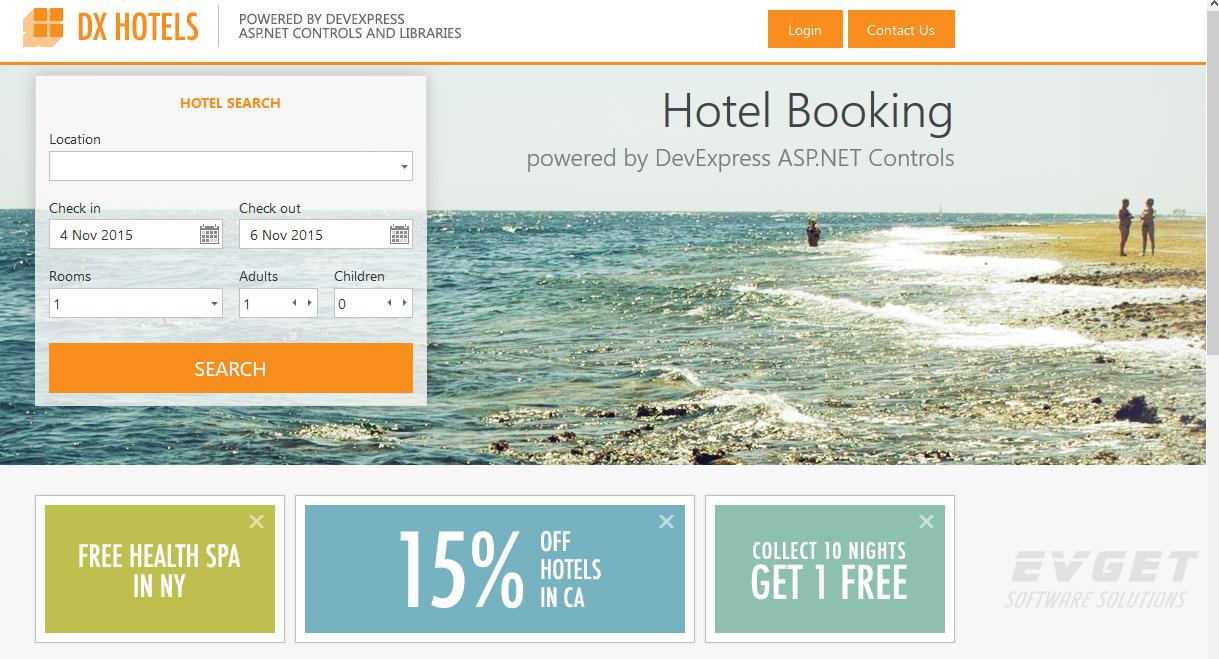 devexpress 酒店订阅系统