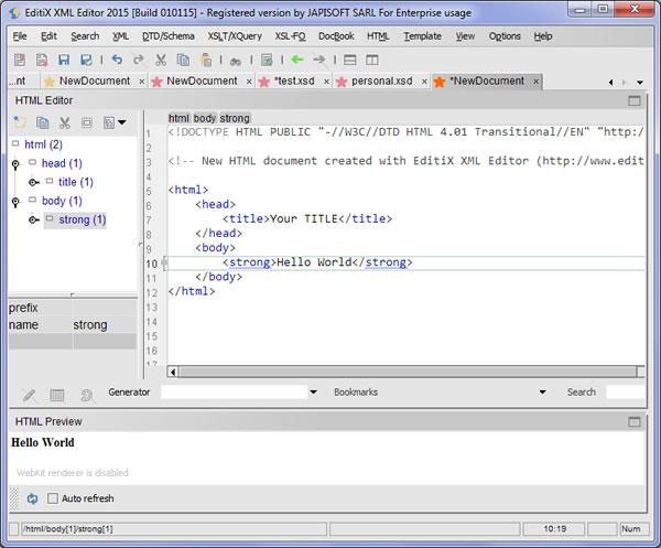 EditiX XML Editorv2015 更新