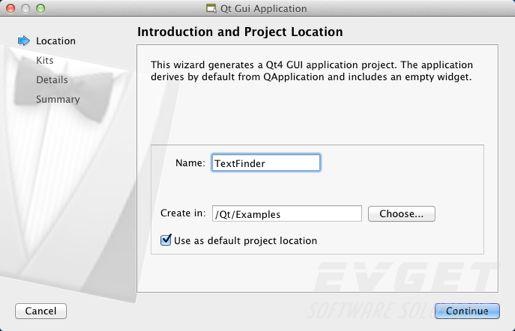 创建一个基于Qt部件的应用程序(一)