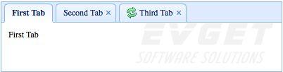 jQuery EasyUI使用教程:创建标签页