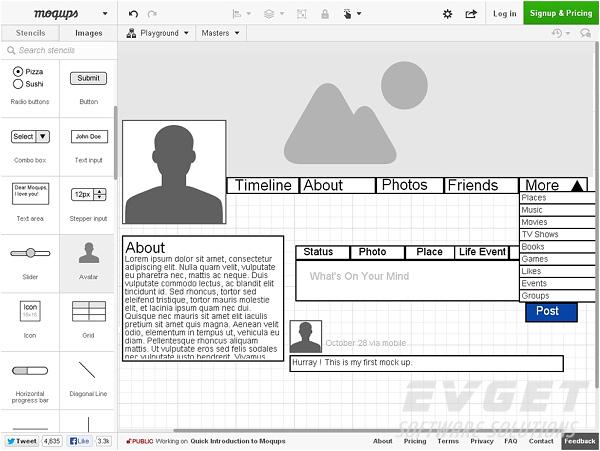分享5个实用web界面设计工具 | 附开发案例