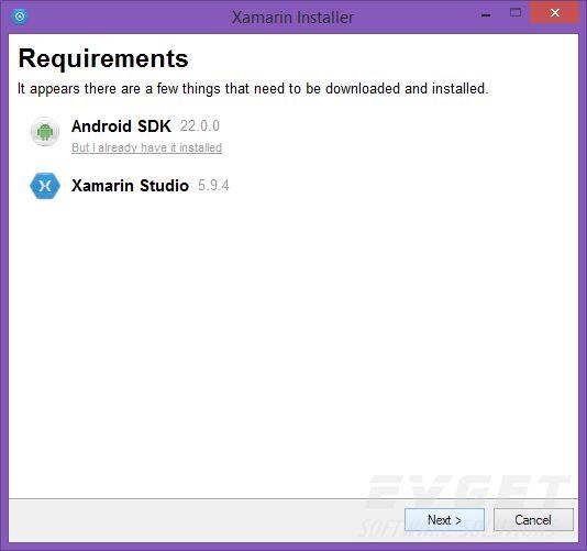 Xamarin.Android使用教程:简介和安装