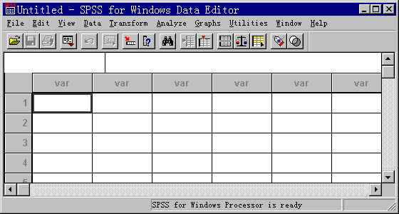spss基础教程:数据的输入和保存