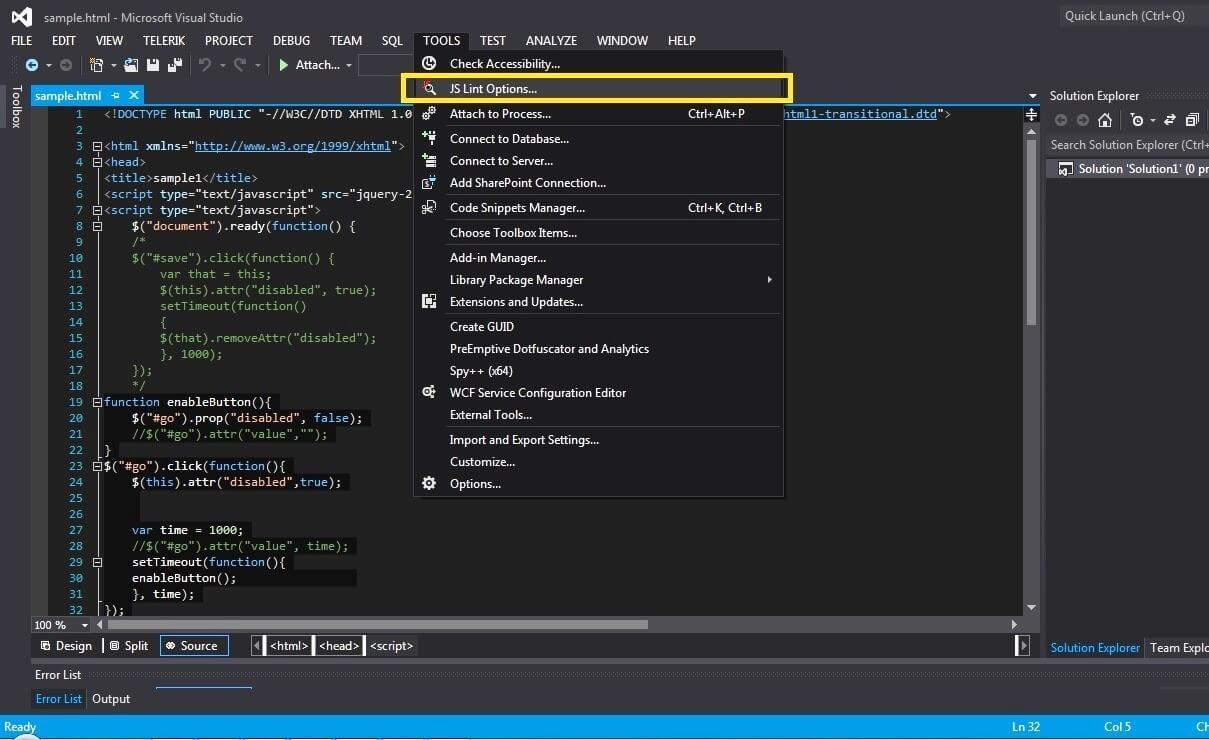 可进行javascript代码测试与调试的12个网站