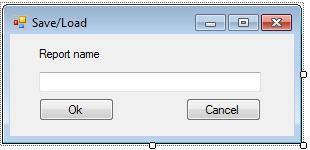 加载保存对话框