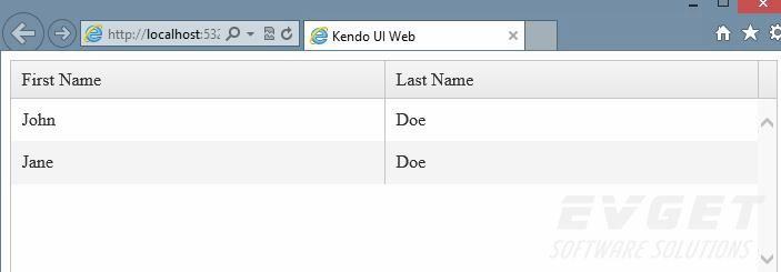 >Kendo UI开发教程