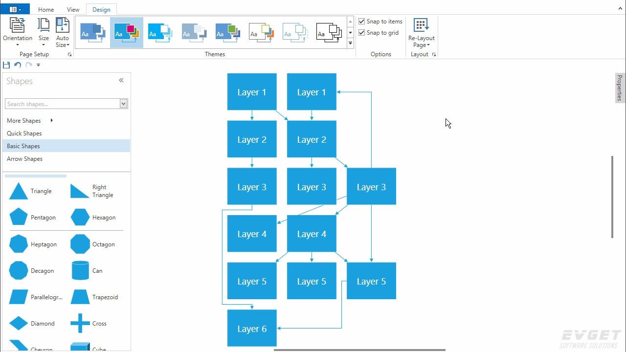 Awesome wpf diagram designer sketch electrical system block devexpress v161wpf ccuart Images